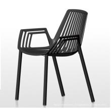 Modern Aluminum Restaurant Chair with Arm for Outdoor (SP-MC056)
