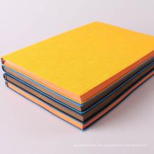 Großhandelsfarben-Gewohnheit Hardcover-Notizbuch-Drucken