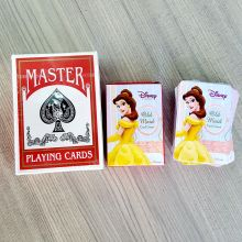 Custom shape advertising logo paper playing card