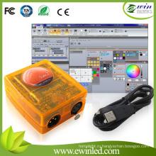 2048FC первоклассное программное обеспечение контроллер DMX Декодер