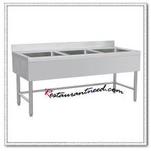 TS307 1.8m European Style Triple Sinks Bench