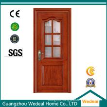French Door Fiber Glass Door Interior/Garden Door for Project