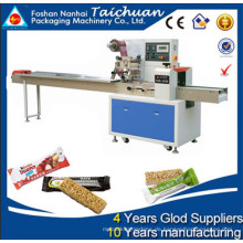 Schokoladen-Getreide-Bar Flow Pack Maschine Preis in Kolumbien