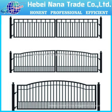 House Gate Designs/ aluminum farm gates Double Swing Gate(China Manufacturer)