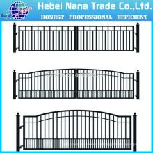 Дом ворот конструкции/ алюминиевые фермы ворота двойные распашные ворота Производитель(Китай)