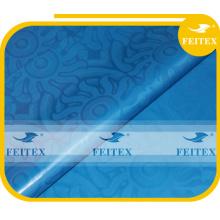 100% cotton bazin african table cloth damask guinea brocade blue color Soft super riche