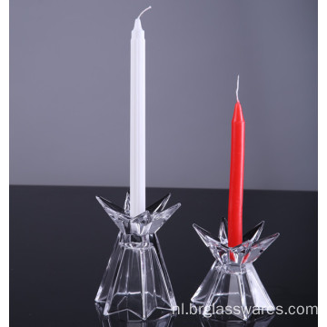 Set van 2 unieke Shine Star Candlestick Holder