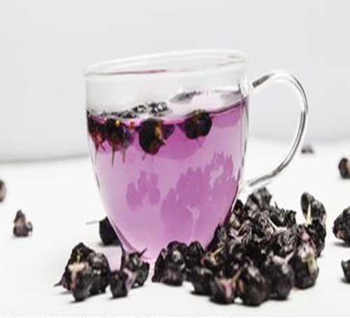 black goji berry tea