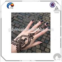 Autocollant imperméable de tatouage de style indien de Mehndi de henné dans l'art de corps de vente chaude