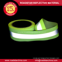 Eco-friendly reflective warning tape for workwear