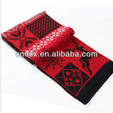 PK17ST195 ladies fashion 2017 christmas acrylic scarf