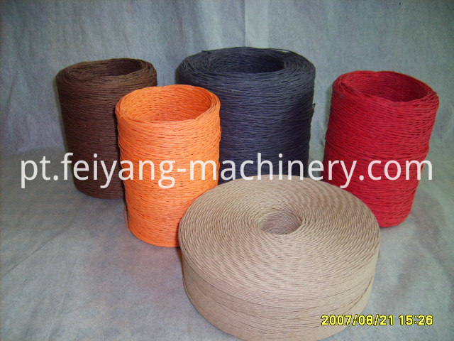 Paper Bags Colorful Twisted Paper Rope