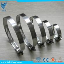 Braçadeira de mangueira DIN 316L em aço inoxidável / aros de mangueira / braçadeira