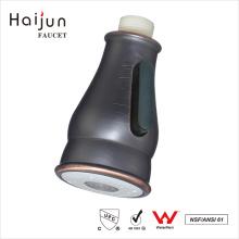 Haijun nueva llegada de doble rociador de control largo cascada grifería grifería de la cocina