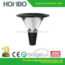Directo fábrica CE RoHs UL aluminio hongo-formado IP65 impermeable 20W 30W 40W 50W llevó la lámpara de jardín