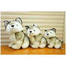 Wholesale Lifelike Wild Animal Soft Toy Stuffed Wolf Plush Toy