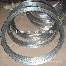 Hot Dipped Galvanized Razor Wire Barbed Tape