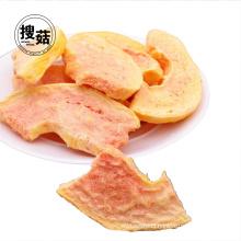 Kosher QS FD Papaya Chips cube Snacks fruit crisps