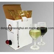 Grape Wine Packaging Bib Bag in Box / Wine Plastic Bag / Wine Bag