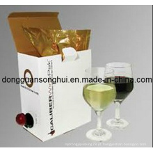 Vinho da Uva Embalagem Saco de Bib em Caixa / Vinho Saco de Plástico / Saco de Vinho