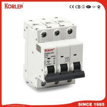 10КА автоматический выключатель повышенной отключающей способности 3 полюса