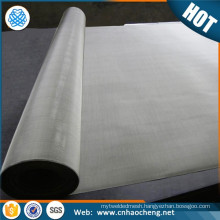 Rotary printing 20 40 60 mesh pure nickel screen mesh
