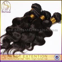 Оптовая Китай товары первой качества тела волны девственной Евразийские волосы