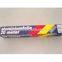 envelopper de papier d'aluminium