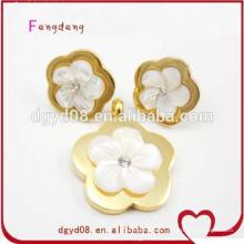 Ensemble de bijoux de mariage en acier inoxydable fabricant de porcelaine