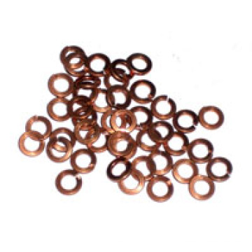 Copper Spring Lock Washers