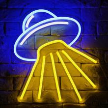 SPACECRAFT NEON SIGN LIGHTING