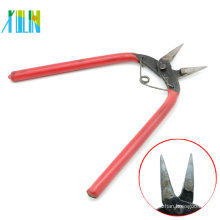 Hand Tool Flat Nose Pliers With Red Handle For Pendant Necklace Making , ZYT0002