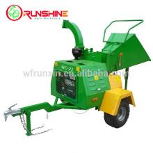 Máquina trituradora de madera móvil diésel 22HP