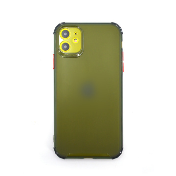 Custodia sottile in silicone antiurto per Iphone 11