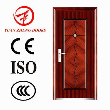 Puerta de seguridad de acero del fabricante de los 10 superiores de China