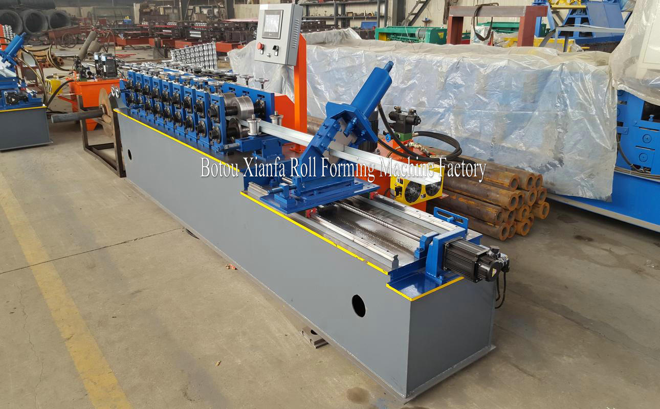 frame stud and track forming machine