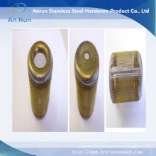 Brass Wire Mesh Filter for Oil Suction Sieve