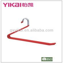 PVC revestido cintas de metal cabide