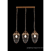 New Product Sofe Brown Color Pendant Lamp (8816-3)