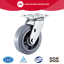 8 '' Heavy Duty Swivel TPR Industrial Caster mit PP-Kern