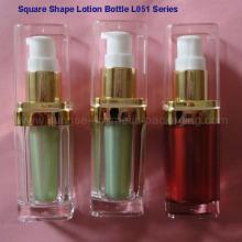 L051 bouteille de Lotion carré