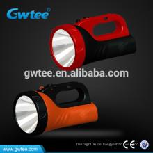 Hochleistungs-5W wiederaufladbare LED-Suchscheinwerfer
