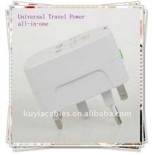 Универсальное зарядное устройство для сетевого адаптера переменного тока AU UK US EU