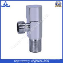 Válvula de ángulo de latón en forma de ventilador (YD-5028)