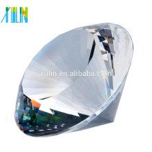 Presente de lembrança de cristal personalizado claro K9 diamante de cristal para lembranças de casamento