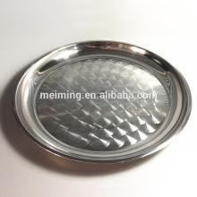 Популярные блюда из нержавеющей стали тарелка круглый поднос сервировки