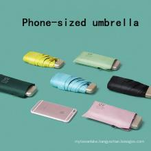 Sun Umbrella Very Small Mini Umbrella Vinyl Umbrella Pocket Sun Protection And Ultraviolet Protection Parasol