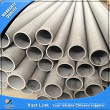 Tubo de aço inoxidável com certificação SGS ASTM A213 para trocador de calor