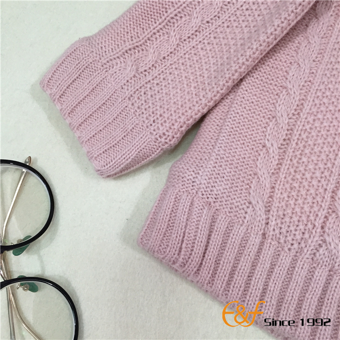 Coral Fleece Sweater with Double Layer