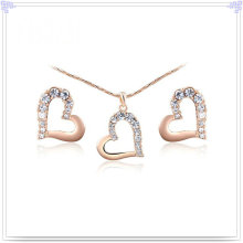 Crystal Jewelry Alloy Jewelry Fashion Alloy Jewelry Set (AJS168)